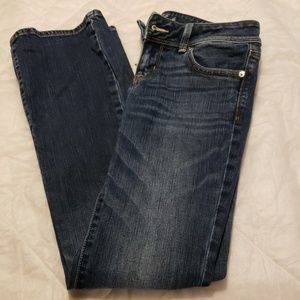 American Eagle Stretch Slim Boot Jeans Womens 4